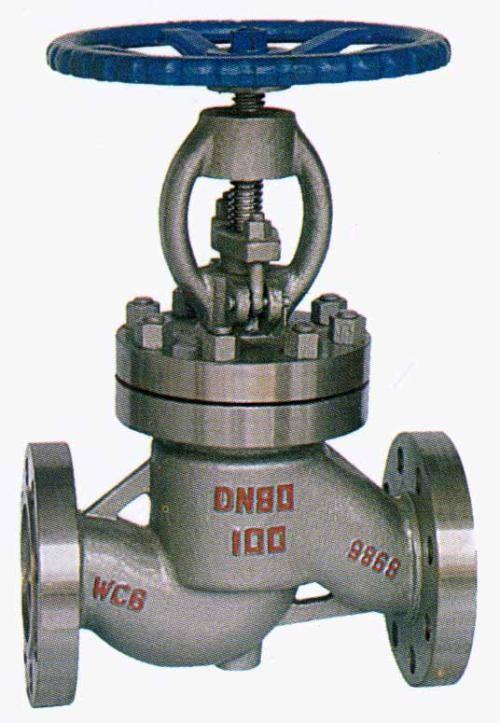铸钢截止阀J41H-16C